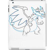 Mega Charizard X Vector iPad Case/Skin