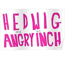 Hedwig and the Angry Inch (Pink Logo) Poster