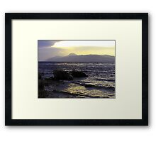 Wintry-Ness Framed Print
