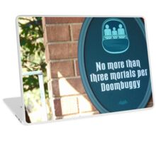Haunted Mansion- Magic Kingdom Laptop Skin