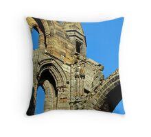 Whitby Abbey. Throw Pillow