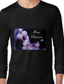 Merry Christmas Postcard Christmas Long Sleeve T-Shirt