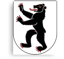 Coat of Arms of Appenzell Innerrhoden Canton Canvas Print