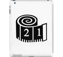 Measuring tape iPad Case/Skin