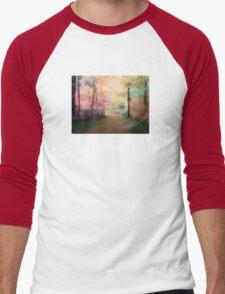 A Walk In The Park - Infrared Series Men's Baseball ¾ T-Shirt
