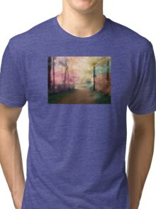 A Walk In The Park - Infrared Series Tri-blend T-Shirt
