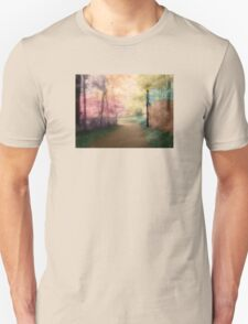 A Walk In The Park - Infrared Series Unisex T-Shirt