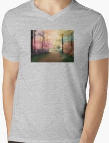 A Walk In The Park - Infrared Series Mens V-Neck T-Shirt