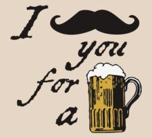 I moustache you for a beer T-Shirt