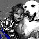 A boy and his dog by Dmarie Becker