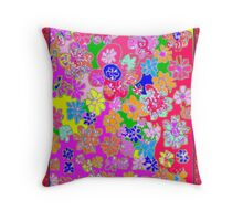 Daiseies, Daisies, Daisies! Throw Pillow