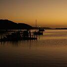 Sunrise at Nungurner Jetty by Nigel Roulston