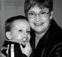 Mammy and Sebastian by Bonnie T.  Barry