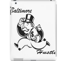Black Bmore Hustle iPad Case/Skin