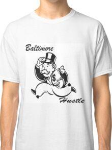 Black Bmore Hustle Classic T-Shirt