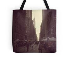 New York streetscape Tote Bag