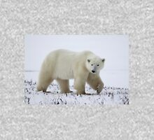 Polar Bear on the Tundra, Churchill, Canada Unisex T-Shirt