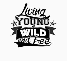 Wiz Khalifa Living Young & Wild and Free Men's Baseball ¾ T-Shirt
