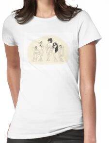 The Muses Womens Fitted T-Shirt
