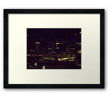 downtown providence r.i.  Framed Print