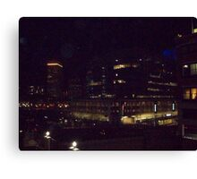 downtown providence r.i.  Canvas Print