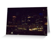 downtown providence r.i.  Greeting Card