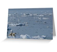 Vanishing World Greeting Card