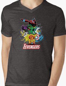 The Eevegers Mens V-Neck T-Shirt