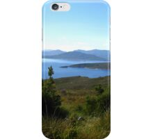 View to Lake Pedder #2 from Red Knoll Lookout iPhone Case/Skin