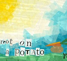 Carrot on a Potato by Jill Connor