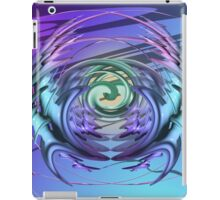 Fighting Obstacles and Maintaining Balance iPad Case/Skin