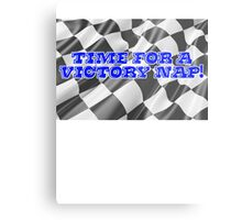 Time for a victory nap! Metal Print