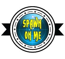 Spawn On Me Chucks Photographic Print