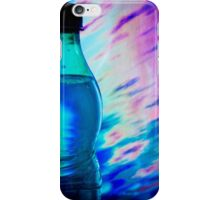 Bottle of water on abstract background iPhone Case/Skin