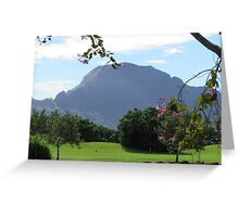 Mountain Greeting Card