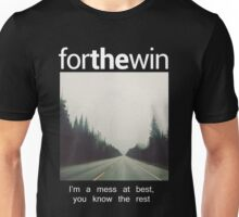 For The Win Tee Unisex T-Shirt