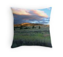 Evening Near Kamloops Throw Pillow
