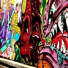Hosier Lane by Franz