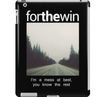 For The Win Tee iPad Case/Skin