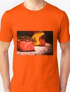 Juicy watermelon covered with black chocolate Unisex T-Shirt