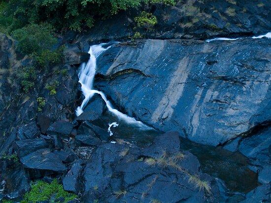 The Devil's Falls.... (Surprise Creek Falls) by Paul Davis