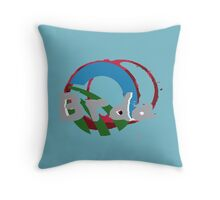 Brda Slovenia Throw Pillow