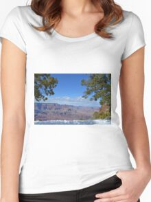 Grand Canyon 4 Women's Fitted Scoop T-Shirt