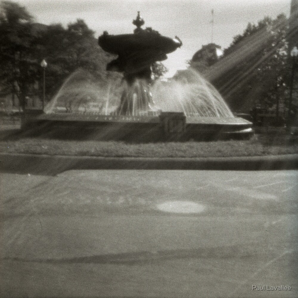 Pinhole Fountain by Paul Lavallee