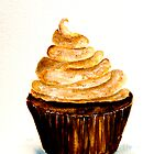 Delicious..Chocolate Cupcake with Mocha Swirl by  Janis Zroback