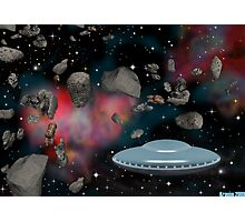 Space Rock Insterstellar Overdrive Photographic Print