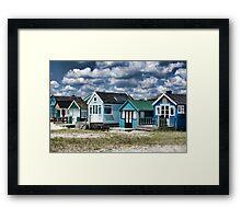 Beach Huts Series 24 Framed Print