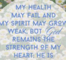Psalms Sticker