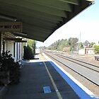 Once Upon a Time!, Old Rail Station, 'Henty', Country Town.  by Rita Blom