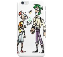 very rude iPhone Case/Skin